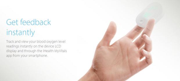 iHealth PO3藍牙智能脈搏血氧計